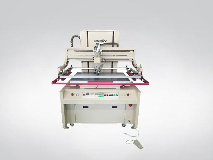Máquina de impressão da tela elétrica